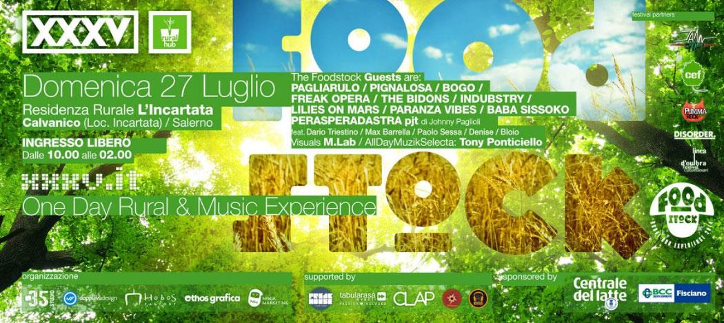 FOODSTOCK | Ecosuoni Tour 2014