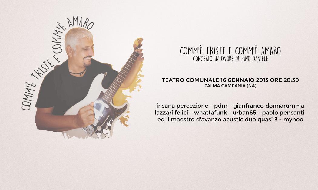 Ecosuoni 2015 | Concerto in onore di Pino Daniele