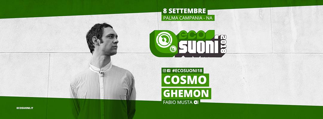 Ecosuoni 2018 | Como + Ghemon + Fabio Musta Dj Set